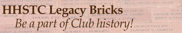 HHSTC Legacy Bricks - Be a part of Club History.